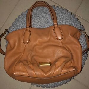 Marc by Marc Jacobs tan leather bag with strap